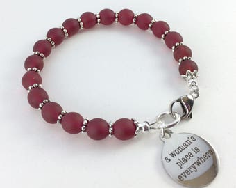 A Woman's Place is Everywhere Bracelet