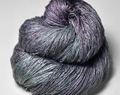 Army of the Dead - Tussah Silk Fingering Yarn