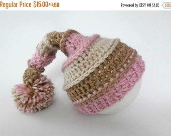 SALE 30% ON SALE Baby Hat_Newborn Baby Pixie Hat_NewBorn Baby Hospital Hat_Newborn Photo PropPixie Hat_Newborn Posing Hat_Baby Prop Stash