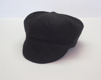 Baby Hats for Boys/Black Baby Cap/Black Baby Hat/Black Hat for Baby