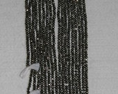 Pyrite, Pyrite Rondelle, Faceted Rondelle, Faceted Pyrite, Natural Stone, Sparkle Stone, Full Strand, 3mm, AdrianasBeads