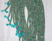 AB, Amazonite, AB Amazonite, Faceted Rondelle, Amazonite Rondelle, Semi Precious, Natural Stone, Sparkle, Full Strand, 4 mm, AdrianasBeads