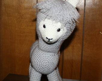 Alpaca Amigurumi