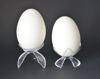 Acrylic stands for Goose egg reversible tulip stand