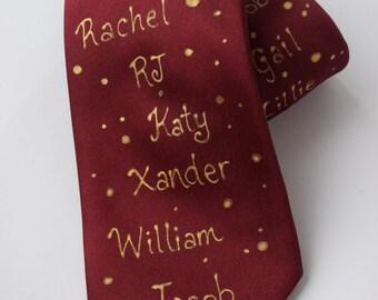 Father's Tie , Dad tie, grandpa tie,