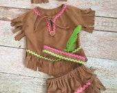 Baby Native American Indian Inspired Costume, Size 18 Months