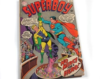 Vintage DC Comic Books, Superboy, Superman National Comics, National Periodical Publications