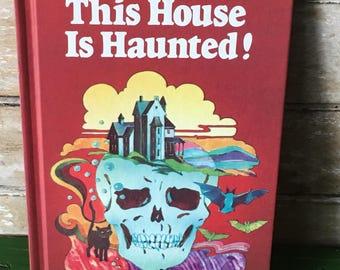 Vintage Haunted Halloween Book 1977