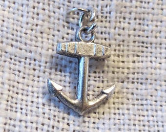 Anchor Sterling Silver Charm