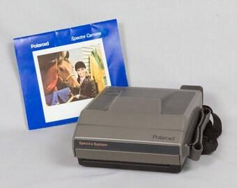 Vintage Polaroid Spectra System Camera Excellent condition, Sonar Autofocus, Programmed flash, Quintic lens, Photocell, In original box