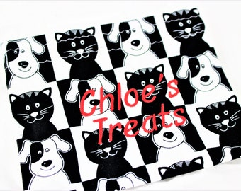 Dog Treat Bag - Treats Sack - Chloes Treats - Personalized Bag - Ready To Ship