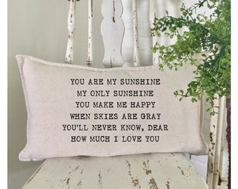 You are my Sunshine | Farmhouse Decor | Cottage Decor