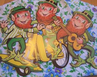 1982 beistle leprechaun decorations