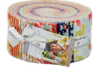 "Fig Tree Coney Island Jelly Roll 2.5"" Strips Fig Tree Jelly Roll Moda Jelly Roll Fig Tree Fabric"