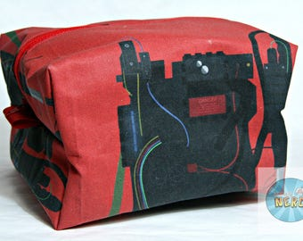 Ghostbusters Proton Pack Inspired Utility/Make Up Bag