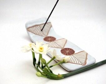 Ceramic Arrows Incense Tray