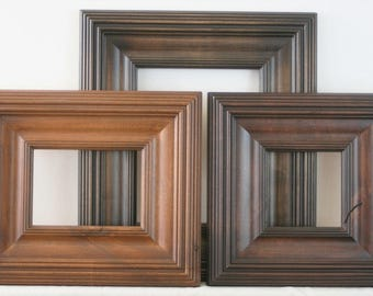 Solid Wood Picture Frames By Artcityframes On Etsy