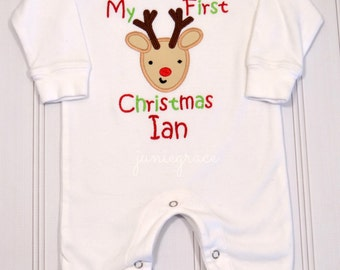 Baby boy christmas outfit | Etsy