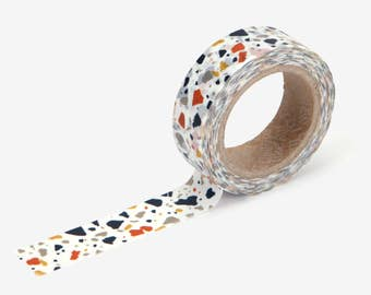Terrazzo Washi Tape - craft supplies-planner stickers-erin condren-scrapbooking -masking tape- decorative tape-Love My Tapes