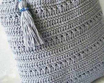 Crochet Shoulder Bag, Tote Bag, Crochet Handbag