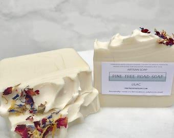 LILAC Bar Soap.  Soap Bar.
