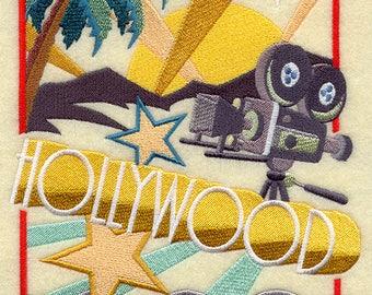 Art Deco Hollywood Quilt Block