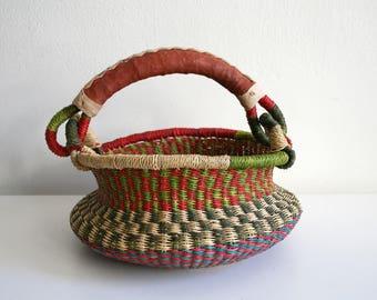 Ghana Woven Small Blessing Basket