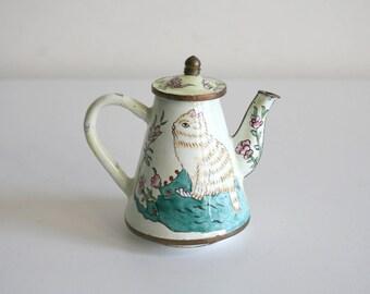 Miniature Kitty Teapot