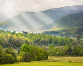 Cades Cove Smoky Mountain Morning