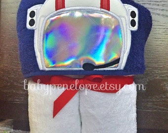 Ready To Ship - Astronaut Hooded Towel - Space Birthday Gift - Astronaut Christmas Gift - Personalized Space Gift - Astronaut Christmas Gift