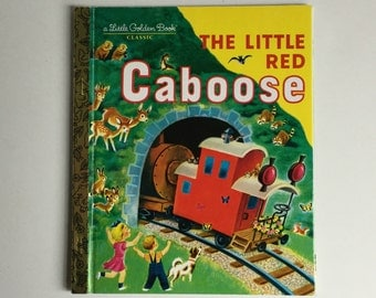 Vintage Children's Book, The Little Red Caboose, Little Golden Book Classic, Train Book, Kids Books, Classic Books,