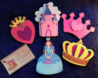 Princess Outlet Socket Covers Baby and Kids Room Decorations Set of 5