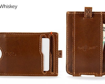The Slim Front Pocket Wallet - Whiskey