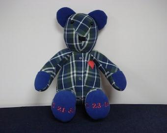Memory Bear -  personalized