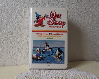 """Walt Disney Home Video Cartoon Collections, Vol 3. """"Mickey Mouse and Donald Duck"""""""