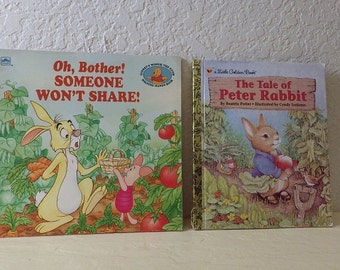 Two Children's Books: Oh, Brother! Someone Won't Share and The Tale of Peter Rabbit