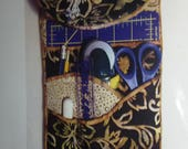 Tool Caddy pattern, One FQ, sewers tool, sewing, quilters gift, easy pattern