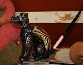 Poodle Pal Letter Holder & Ink Pen