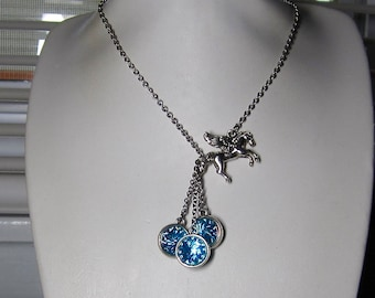 Hypoallergenic Pegasus Earrings and/or Optional Necklace