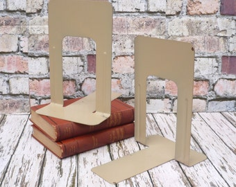 Book Ends Heavy Duty Metal Library/School/Commercial Bookends-PAIR
