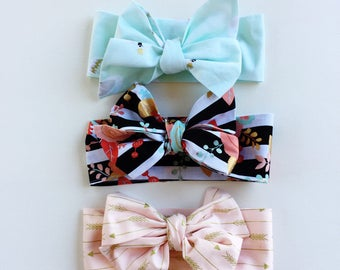 New pick one! Fabric bow headband
