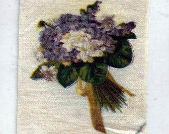 Vintage Violets Cigarette Tobacco Silk, early 1900s
