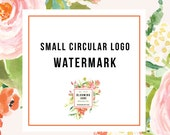 Addon a Small Circular or Initials Watermark Stamp to Any Premade Logo Design