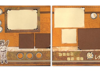 12x12 2pg. Layout - Good to be King