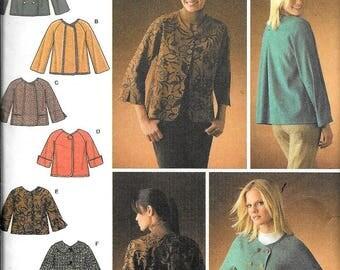 Simplicity 4082 Misses Jackets 6 Designs Sewing Pattern UNCUT Size 6, 8, 10, 12, 14