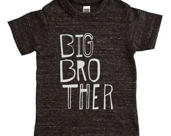 Big Brother Shirt - Boys Top - Sketchy Big Bro Kids Graphic Tee - Boys' Clothing - Kids Shirt - Boys Shirt - Toddler