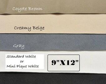 Waterproof Rubber Fabric, Shoe Soling Sheet, Neoprene Fabric, ToughTek Fabric, Non Slip Fabric, Shoe Making Supplies, 9 X 12 Sheet