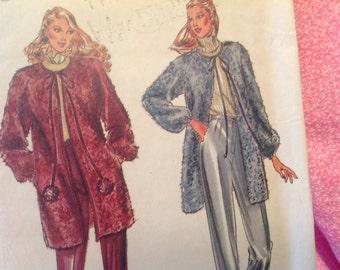 Vintage Butterick Pattern 3382, jacket pattern, pants pattern, size 8 pattern, 80's pattern,Bagatelle  designer, uncut pattern