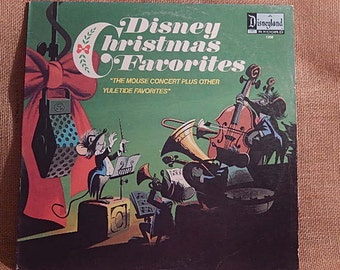 DISNEY Christmas Favorites - 1973 Vintage Vinyl Record Album Lp