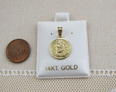 Saint Christopher 14K Gold Pendant